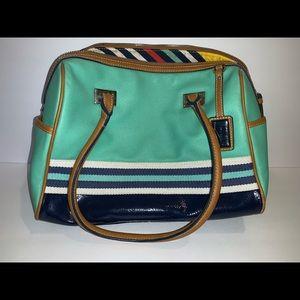 NINE WEST Teal Shoulder Bag